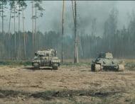 Т 34 и Белый Тигр, съемка