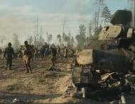 Белый Тигр: после боя - собирают тела погибших танкистов