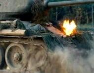 Белый Тигр: прямые попадания в танк Т-34