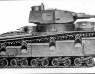 Танк Nb.Fz с башней Круппа
