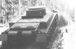Опытный танк ВК