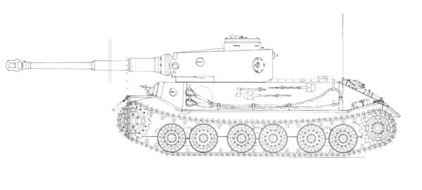 Опытный танк ВК 4501