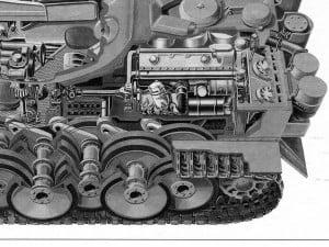 Чертежи и схемы танк в разрезе узлы и