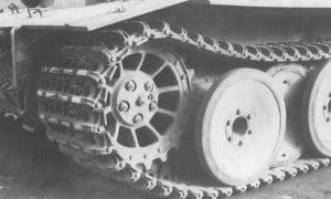 Тигр ведущее колесо
