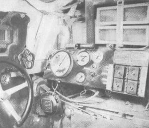 Место механика водителя