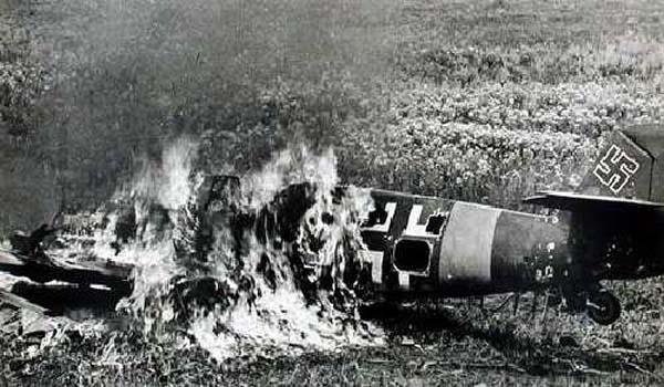 Мессершмидт под Сталинградом