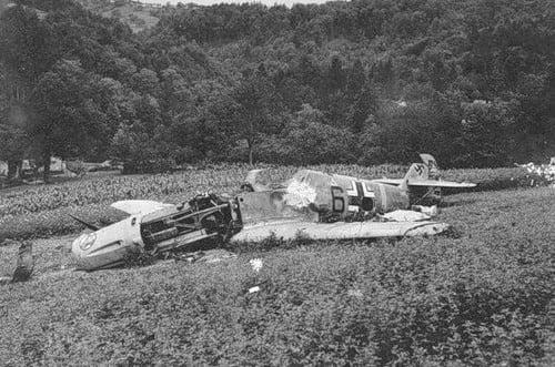 Фотографии уничтоженных самолетов