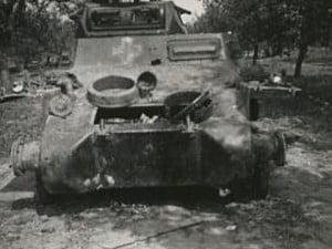 PzKpfw-I остов танка