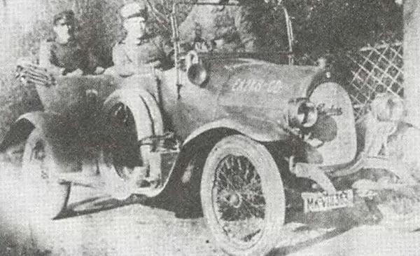 Дюркоп Книппердолинг спортивный автомобиль 1911 года