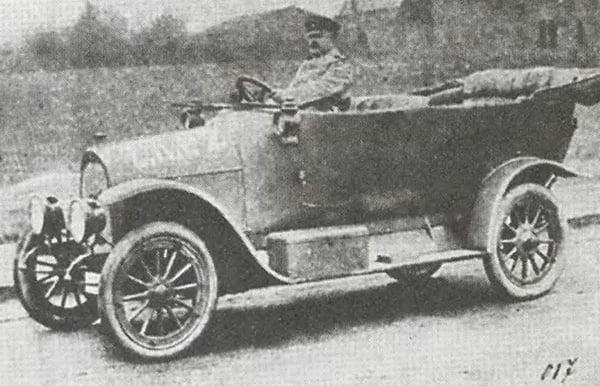 Военный автомобиль Дукс Д-12