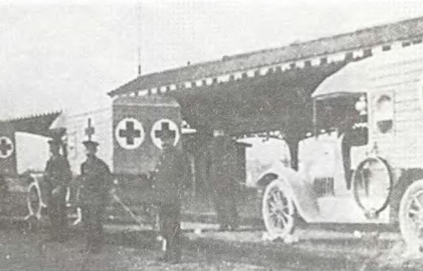Машины для раненых