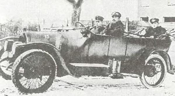 Автомобиль Штёвер с-6 фаэтон 1916 года
