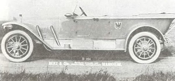 Авто Бенц 1914 года